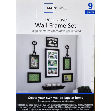 Mainstays Key Frame Set, 9 Count