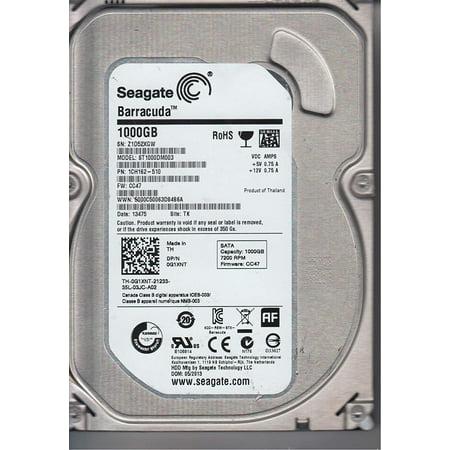 Seagate ST1000DM003 1TB 7200RPM 64MB Cache SATA 6.0GB/S 3.5