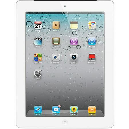 Apple iPad 2 Tablet MC984LL/A 64GB Wifi + 3G AT&T, White (Refurbished) ()