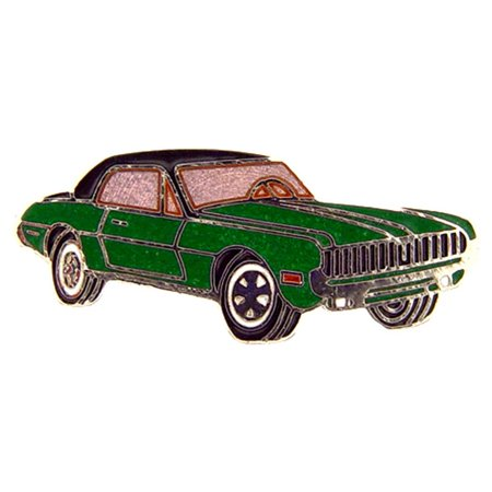 Cougars Green - 1968 Cougar Pin Green 1