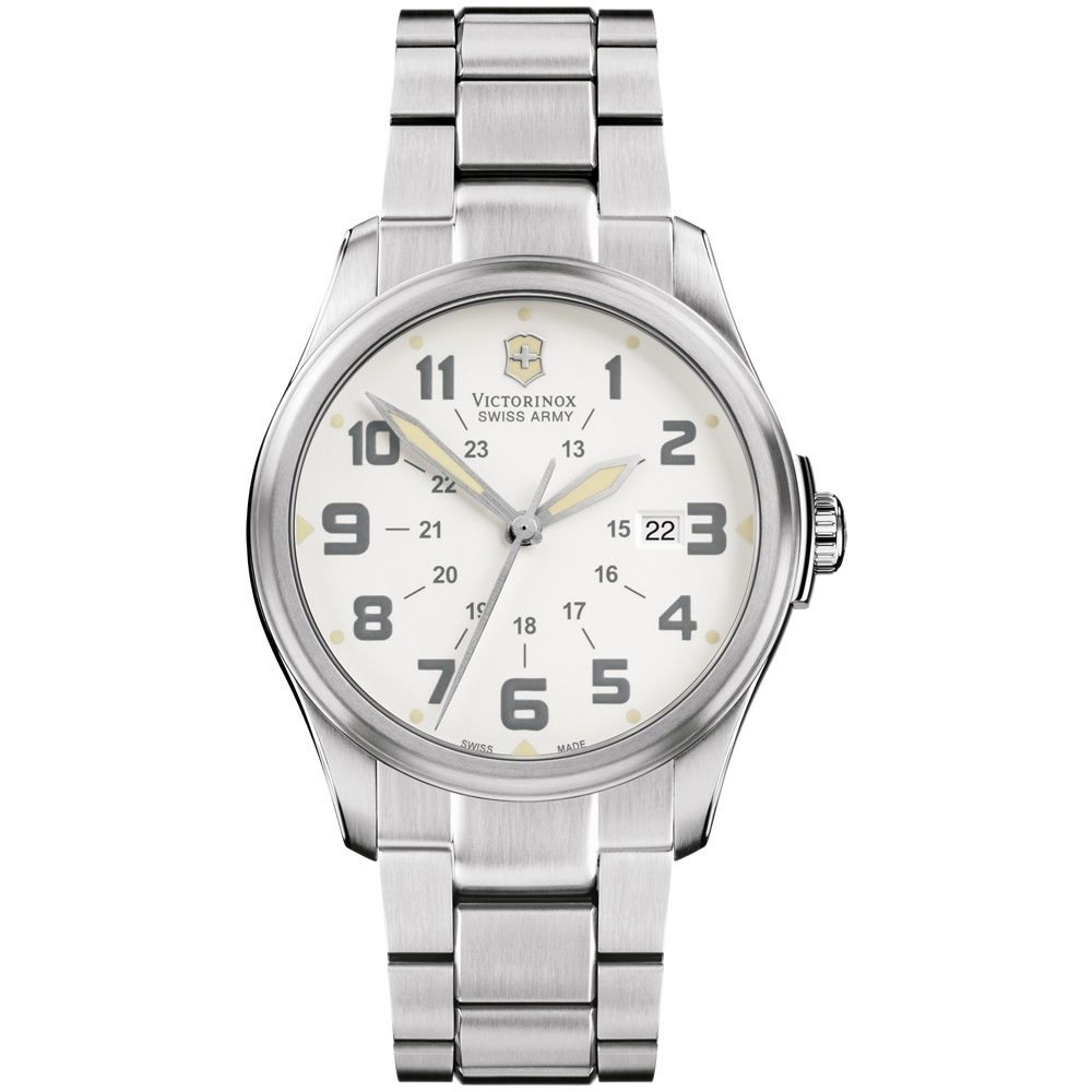 Victorinox Swiss Army 241293 Men's Infantry Vintage Stainless Steel Wrist Watch