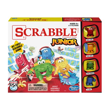 Scrabble Junior Game](Games For 4 Year Old)