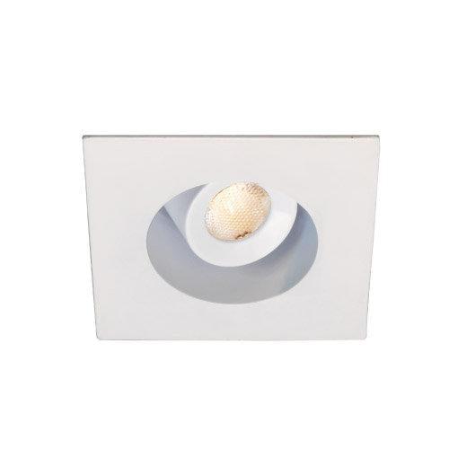 WAC Lighting LEDme 2IN MINIATURE RECESSED ADJUSTABLE PENDANT SQUARE TRIM WHITE