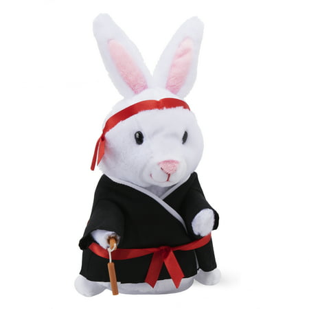 Way to Celebrate Animated Kung Fu Bunny Plush