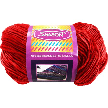 23 Acrylic Yarn - Shason Textile Super-Soft Acrylic Yarn