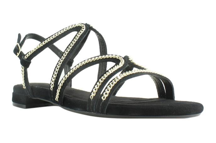 Aerosoles Womens Black Strap Sandals Size 6.5 New by Aerosoles