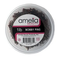 1lb Bobby Pins in a Tub - Bronze