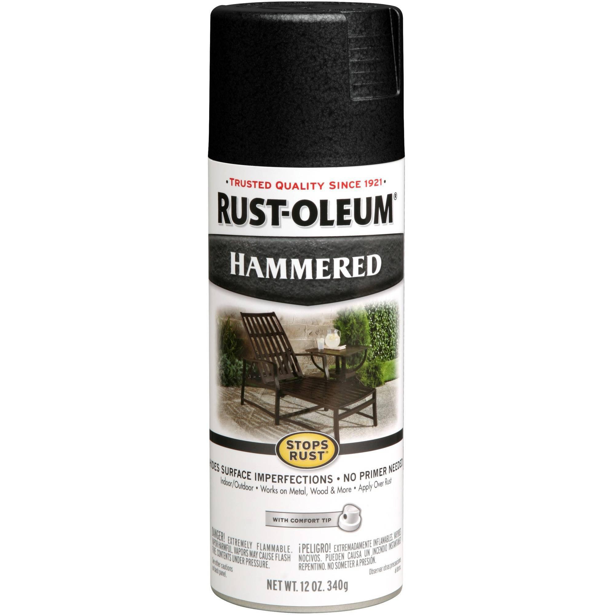 rust oleum spray paint