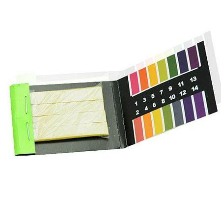 160 Strips Full Range 1-14 pH Test Paper Strips Litmus Testing Kit (Dishwasher Test Strips 160)