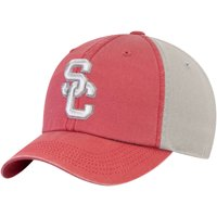 USC Trojans Brent Unstructured Adjustable Hat - Cardinal/Gray - OSFA