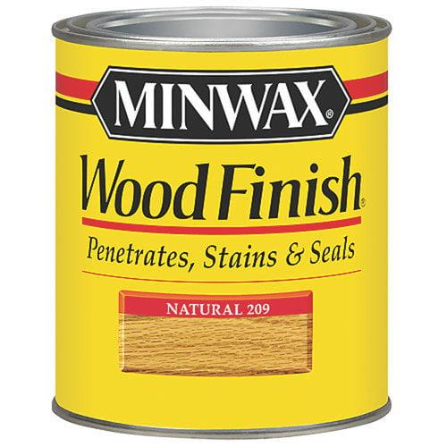 Minwax Wood Finish, 1/2 pt, Natural