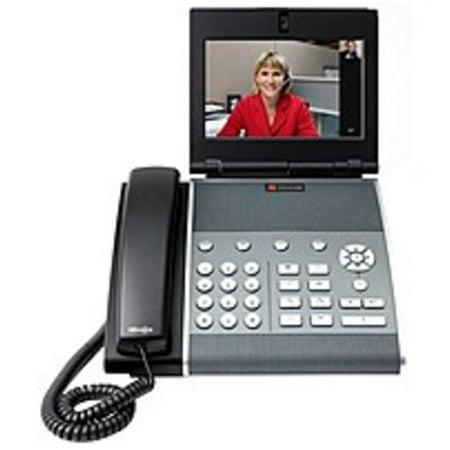 Polycom Video Port (Refurbished Polycom VVX 1500 D IP Phone - Cable - Desktop - 6 x Total Line - VoIP - USB - PoE Ports)