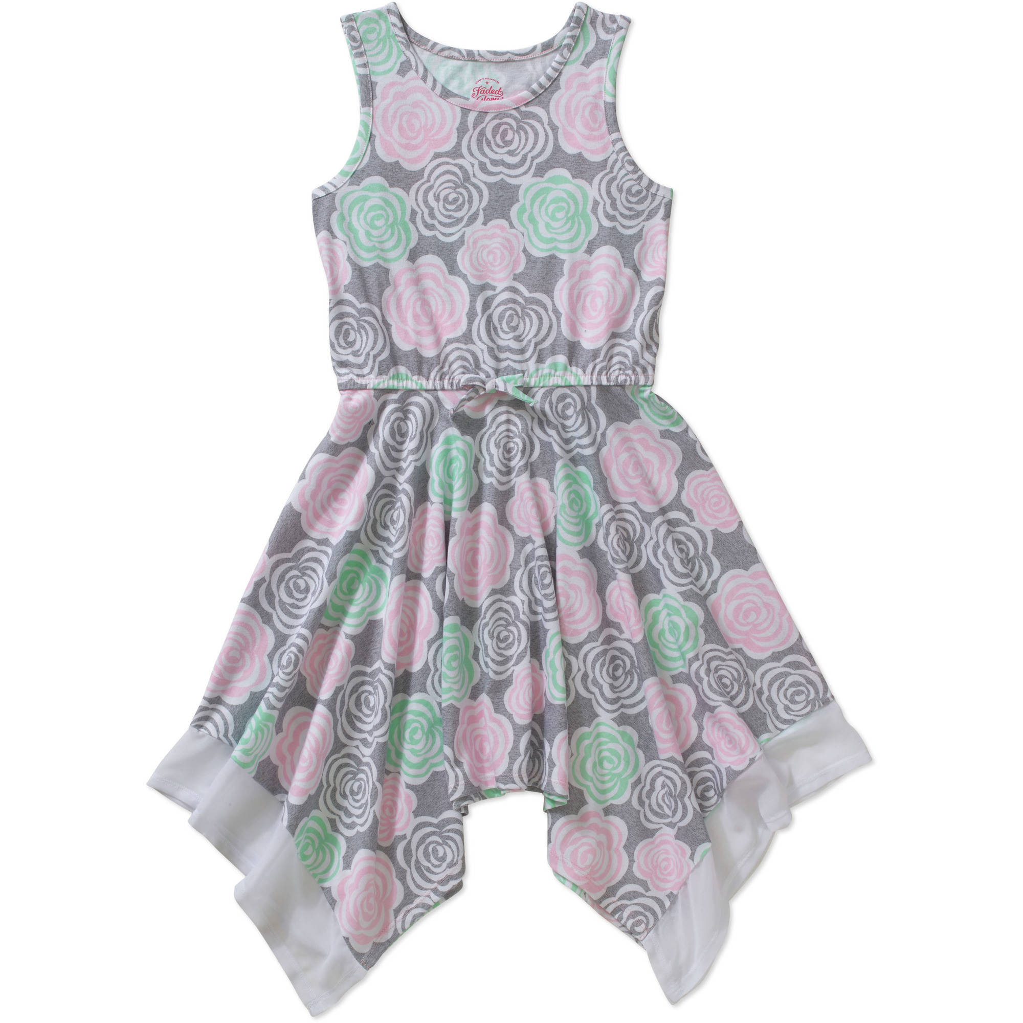 Faded Glory Girls' Hanky Dress