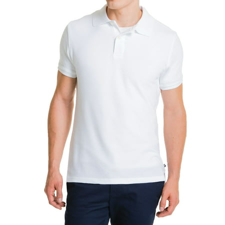 Young Men's Modern Fit Short Sleeve Polo Shirt