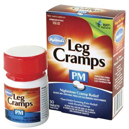 (Hyland's Leg Cramps PM With Quinine (Cinchona officinalis) Tablets 50 ea)