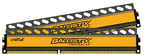 Crucial 32gb Kit [8gbx4], Ballistix 240-pin Dimm, Ddr3 Pc3-12800 Memory Module - 32 Gb [4 X 8 Gb] - Ddr3 Sdram - 1600 Mhz Ddr3-1600/pc3-12800 - Non-ecc - Unregistered - 240-pin - (blt4k8g3d1608et3lx0)