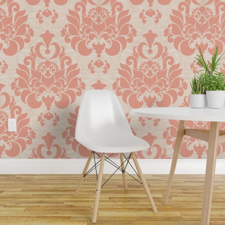 Wallpaper Roll Damask Victorian 24in x 27ft