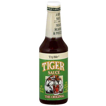 Try Me The Original Tiger Sauce  10 Oz  Pack Of 6