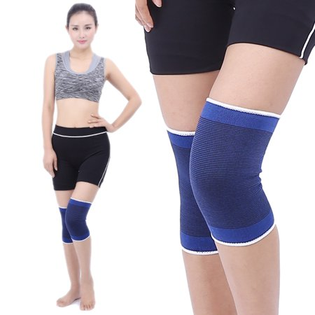 Knees Support Universal Compression Knees Brace Warm Knee Brace for Running Jumping Climbing Biking Basketball Gym