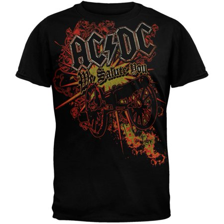 AC/DC - Shoot To Thrill Soft T-Shirt (Ac Dc Shoot To Thrill River Plate)