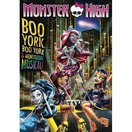 - Monster High: Boo York, Boo York (DVD)