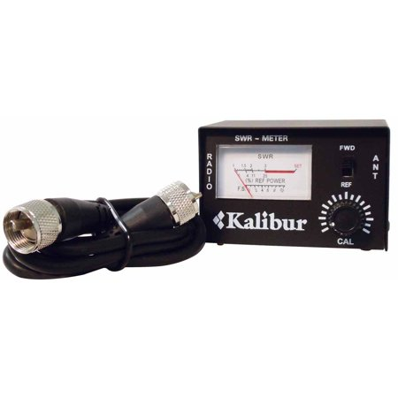 Cables Unlimited Network Connector - ACCESSORIES UNLIMITED - 10 WATT MINI SWR METER WITH 3 FOOT COAX CABLE WITH PL259 CONNECTORS ON EACH AUSWR