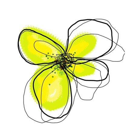 Yellow Petals One Print Wall Art By Jan (1 Yellow Print)