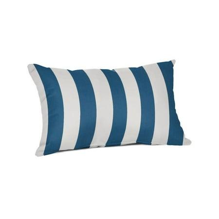 Sunbrella Pillow Covers - Sunbrella Rectangle 20 x 13 in. Throw Pillow - Maxim Regatta