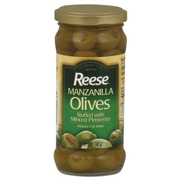 World Finer Foods Reese  Olives, 5 oz