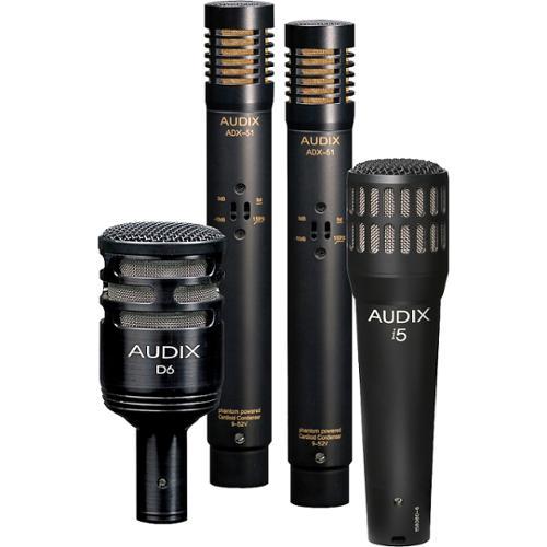 Audix DPQUAD 4-piece Drum Mic Package by Audix