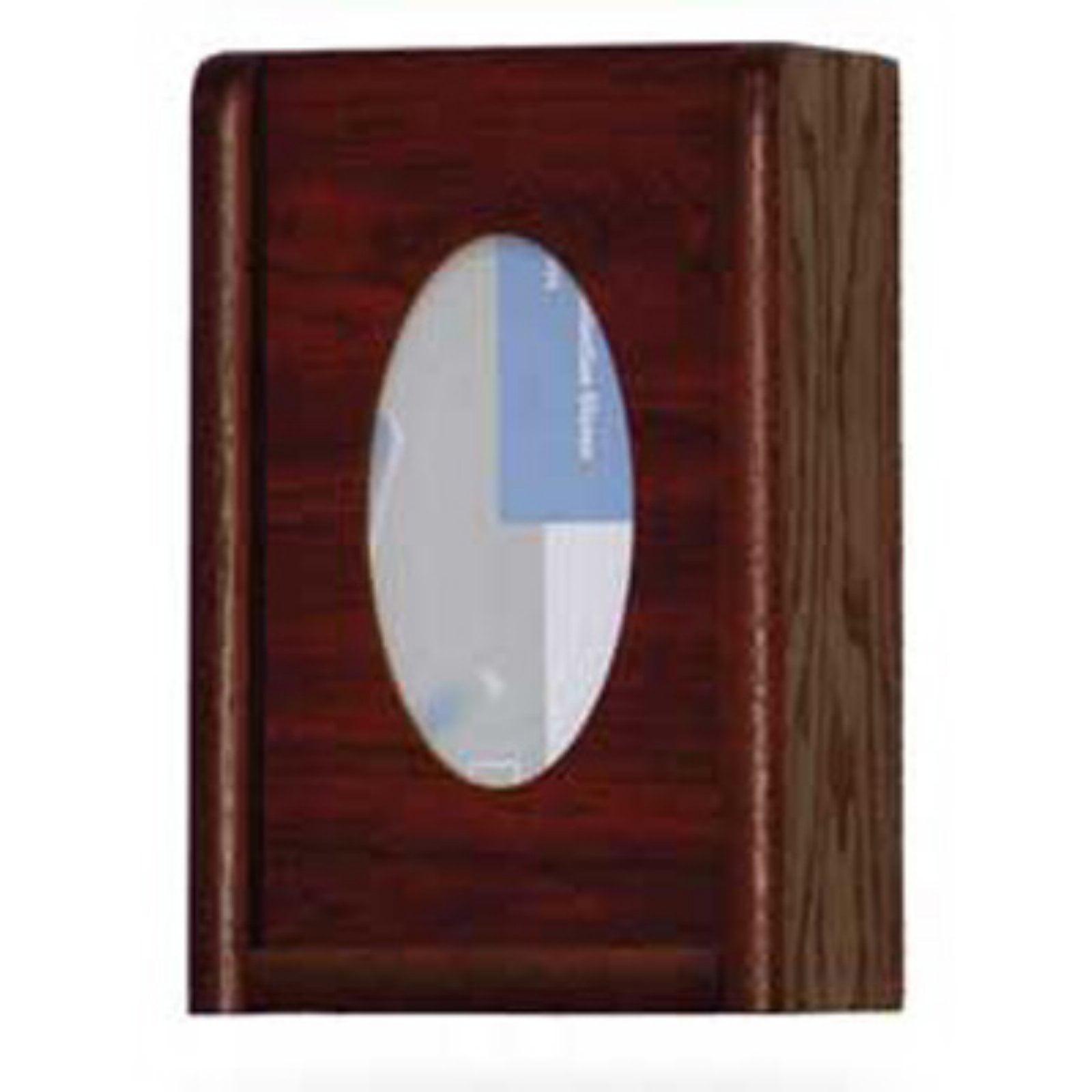 Wooden Mallet 1 Pocket Glove / Tissue Box Holder