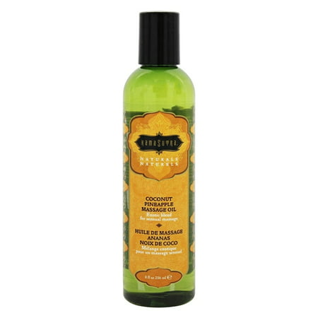 - The Kama Sutra Company - Naturals Massage Oil Coconut Pineapple - 8 oz.