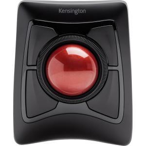 Kensington Expert Mouse TrackBall - Optical - Wireless - Bluetooth/Radio Frequency - Black - USB - Trackball MOUSE W/ TRACKBALL WORKS SOFTWARE