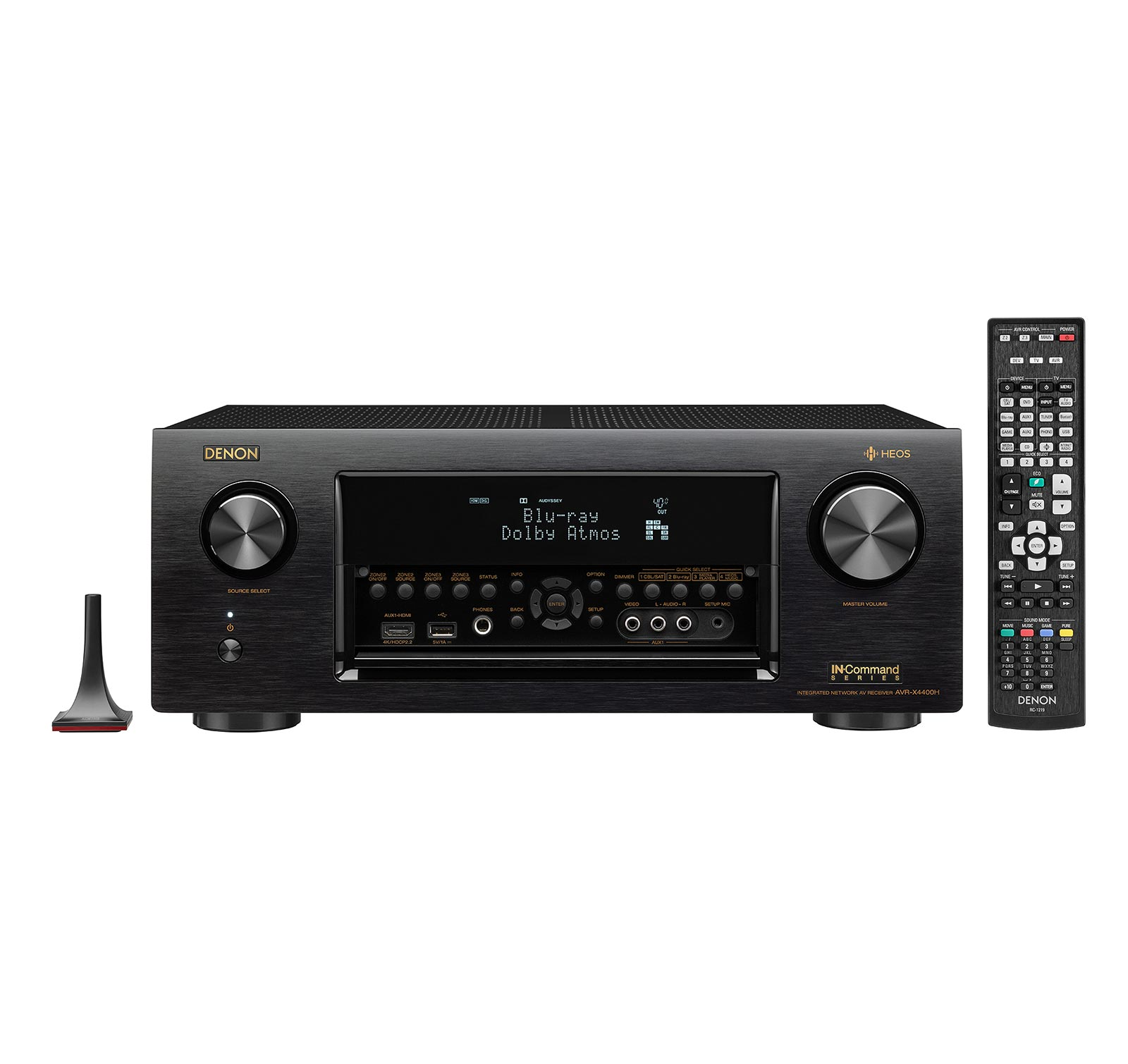 Denon AVRX4400H Certified Refurbished 9.2-channel AV Receiver with HEOS by Denon