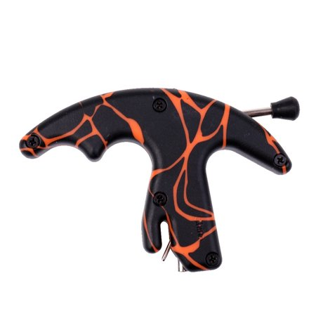 Composite Finger Grip Caliper Arrow Release Aids for Compound Bow Hunting Bow Shooting
