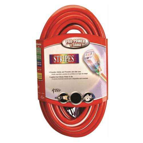 Coleman 025498841 Outdoor Cord, 12/3, 100 ft