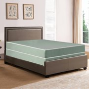 Gowtun, 8-Inch Fully Assembled Firm Double sided Tight top Waterproof Vinyl Innerspring Mattress And 8-Inch Wood Box Spring/Foundation Set, Twin XL Size