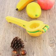 Convenient Design Aluminium Alloy Manual Press Lemon Lime Squeezer Citrus Juicer Fresh Juice Kitchen Cooking Tools by YKS