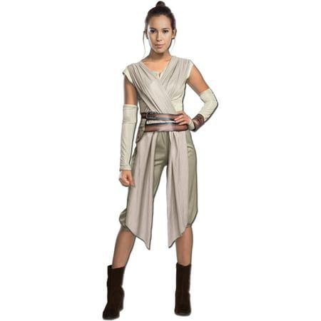 Star Wars Episode VII Deluxe Rey Women's Adult Halloween (Women's Comic Con Costume Ideas)