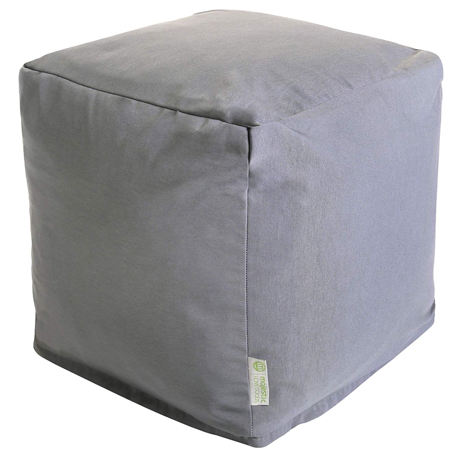 Majestic Home Goods Solid Indoor/Outdoor Ottoman Pouf Cube
