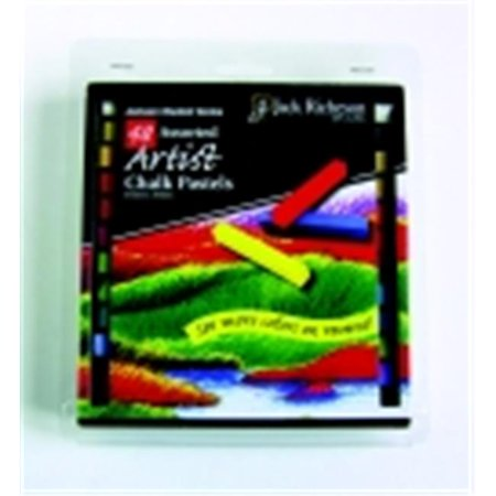Jack Richeson Soft Square Artist Chalk Pastel Set - Assorted Color, Set - 48