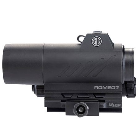 Sig Sauer Romeo7 1x30mm 2 MOA Reticle Red Dot Sight, Matte Black -