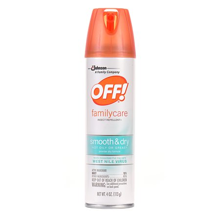Off  Familycare Insect Repellent I Smooth   Dry 4 Ounces