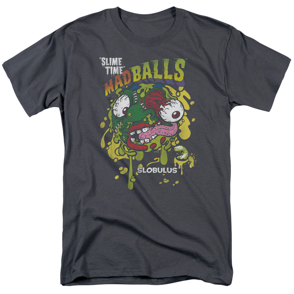 Madballs Slime Time Mens Short Sleeve Shirt