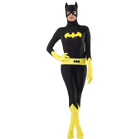 Batgirl Zentai Bodysuit Halloween Costume