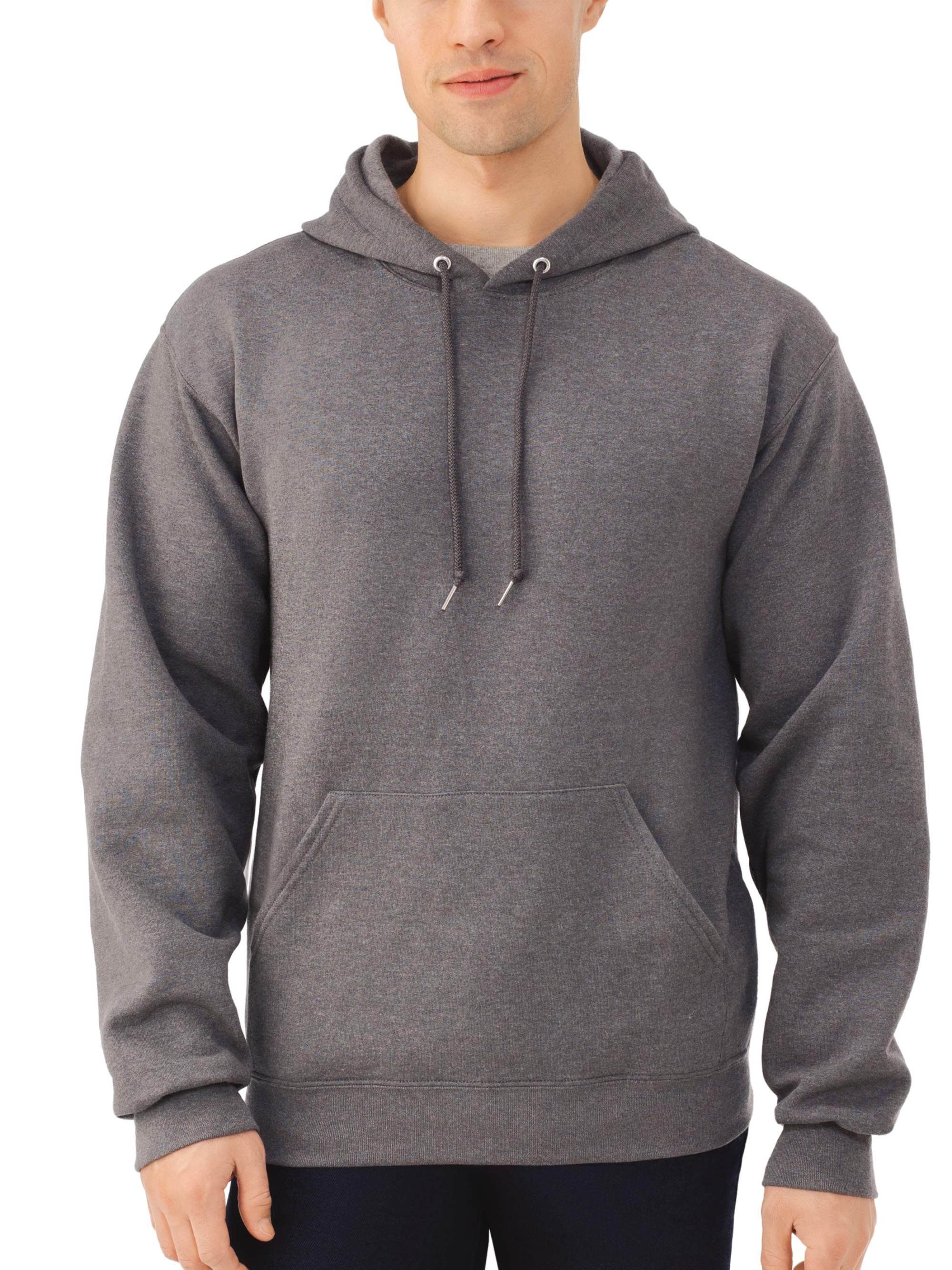 Fruit Of The Loom Mens Dual Defense Eversoft Hoodie Jumper Cotton Ml Pullover Hooded Sweatshirt
