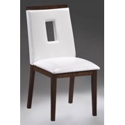 Chair in White Finish - Set of 2