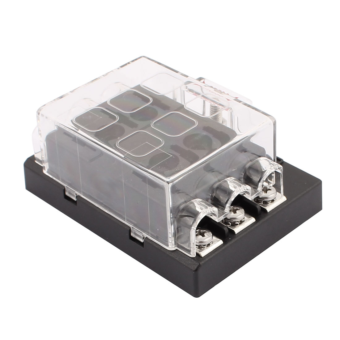 Fuse Box Terminal Adapter Electrical Wiring Diagrams Headphones Dc32v 6 Way Terminals Circuit Atc Ato Car Suv Auto Blade