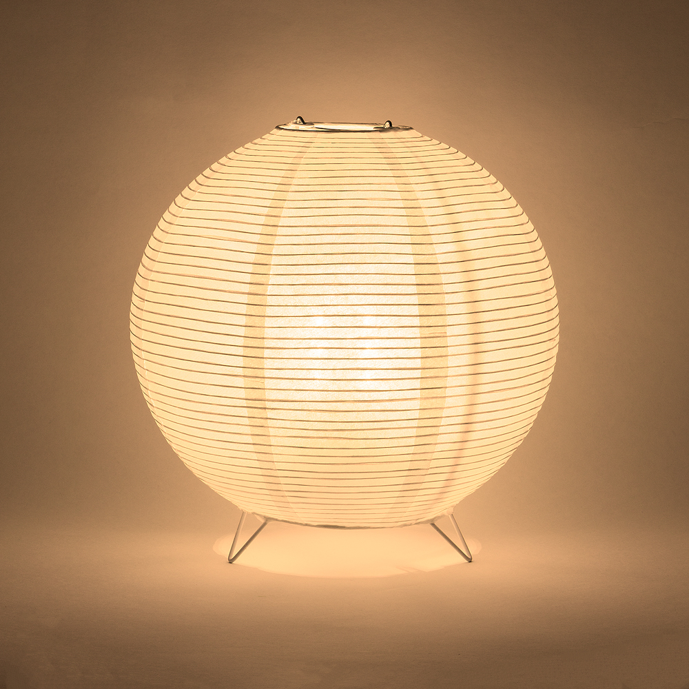 Round Fine Line Warm White Led Lantern