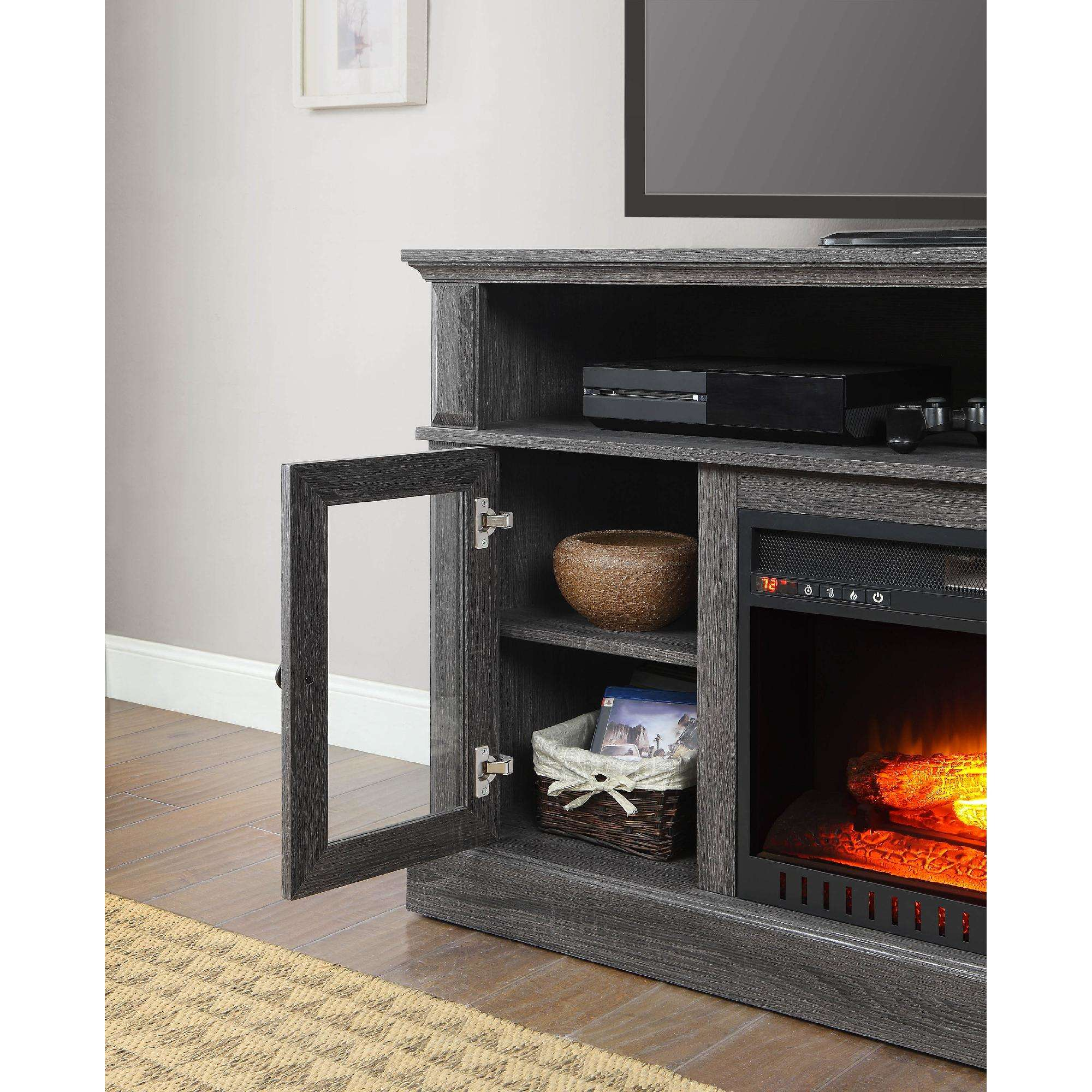 whalen barston media fireplace for tv s up to 70 multiple finishes